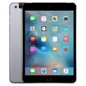 Apple iPad Mini 3 16GB, WLAN + Cellular (Entsperrt), 20,07 cm, (7,9 Zoll) - Spacegrau mit 12 Monate Händlergarantie