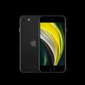 Apple iPhone SE 2020 128GB Schwarz mit 12 Monten Händlergarantie und 19% MwSt