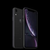 Apple iPhone XR 64GB  Schwarz mit 12 Monate Händlergarantie und 19% MwSt